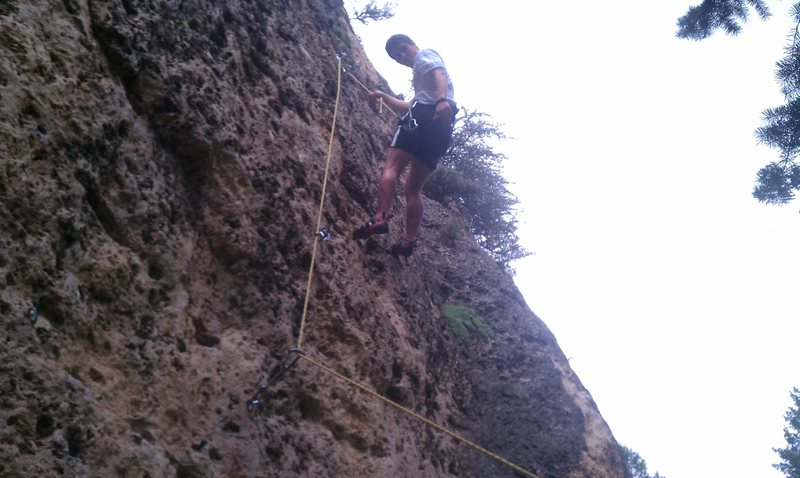 Good fun route for a 5.7