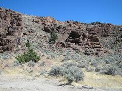 Rock Climbing Photo: Pot Belly Boulders