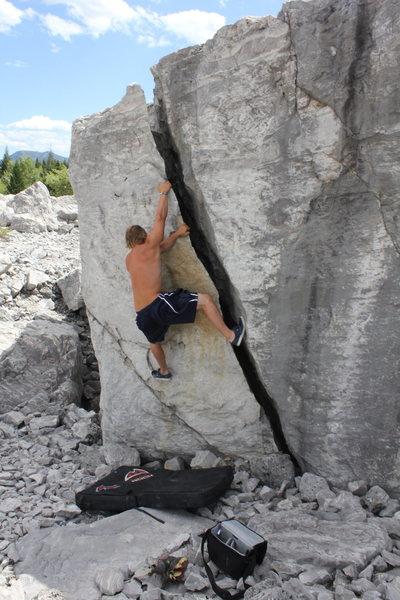 Levi Ziegler on the Flake Route