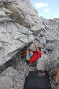 Rock Climbing Photo: Shutdown (V5)