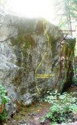 Rock Climbing Photo: South side of boulder