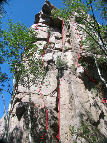 SW Corner of Bear Scat Rock