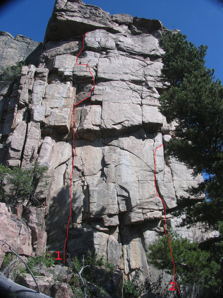 West Face of Bear Scat Rock