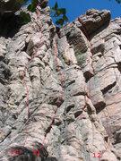 Rock Climbing Photo: the Three Musketeers