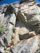 Rock Climbing Photo: Dare Mus Bee Zom Way Otta Hear