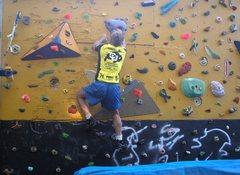 Rock Climbing Photo: back yard wall again