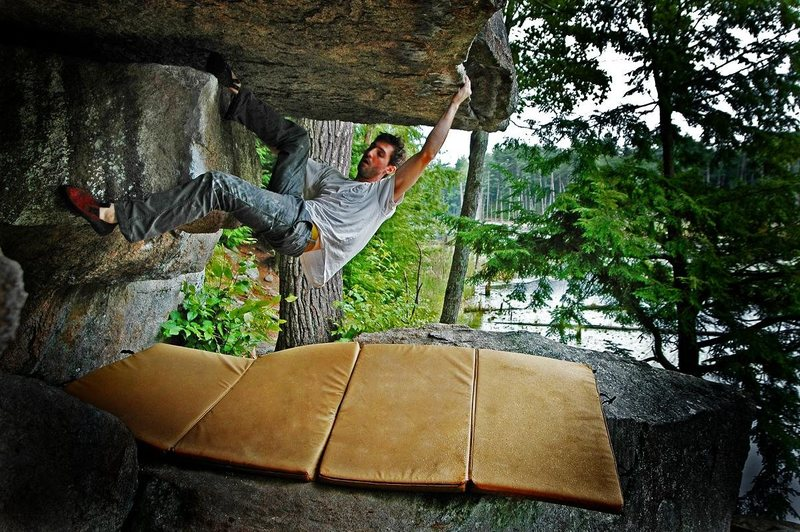 Rock Climbing Photo: 'Overlooked'