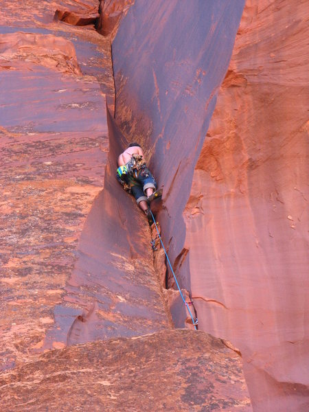 Rock Climbing Photo: Above the choss