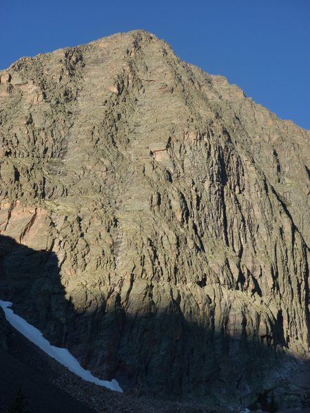 The 1700 foot NE Face of The Guardian.