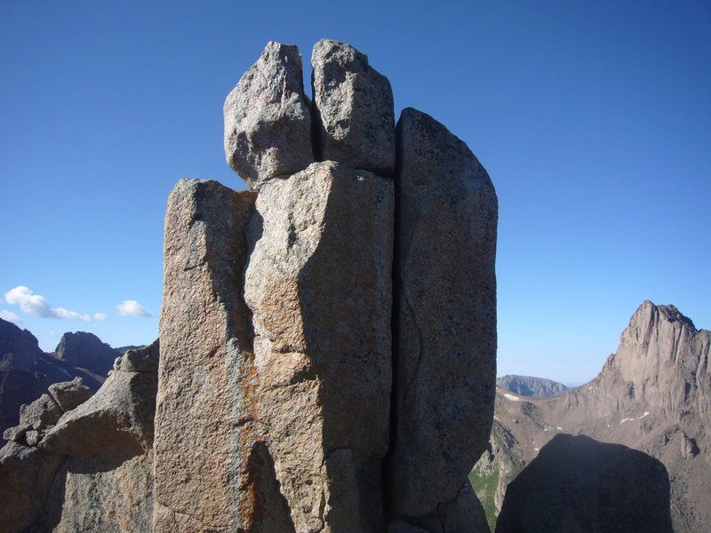 Rock Climbing Photo: Upper bit of Index.