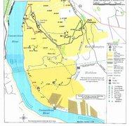Climbing map of Hurd Park