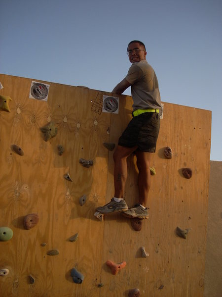Rock Climbing Photo: Task Force Ghost(V2)
