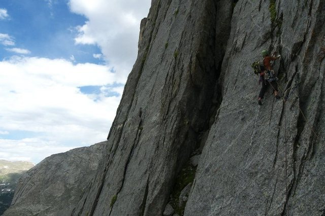 the last pitch below the dihedral