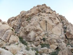 Rock Climbing Photo: Rapping off anchors on top of WWR.