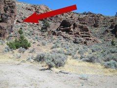 Rock Climbing Photo: Slap Rock