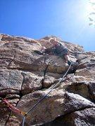 Rock Climbing Photo: 5.28.11 Lead by Indira.