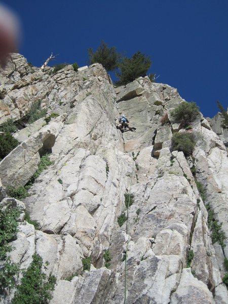 Rock Climbing Photo: Pesquera 5.7+