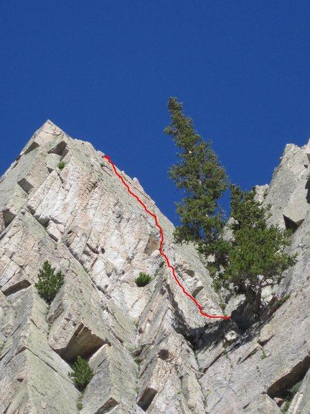 Rock Climbing Photo: Periquita 5.8
