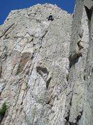Rock Climbing Photo: The headwall.
