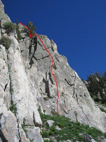 Rock Climbing Photo: Criolla 5.7+