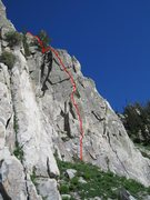 Rock Climbing Photo: Criolla 5.7+