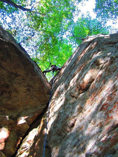 Rock Climbing Photo: Rad Crack