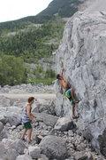 Rock Climbing Photo: Mike B on Apple Shampoo
