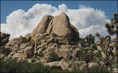 Rock Climbing Photo: Hunk Rock. Photo by Blitzo.