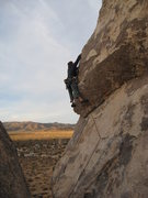 Rock Climbing Photo: sunrise ascent