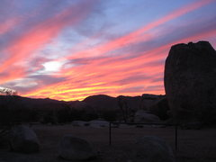 Rock Climbing Photo: best end to a day