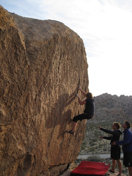 Rock Climbing Photo: campground bouldering
