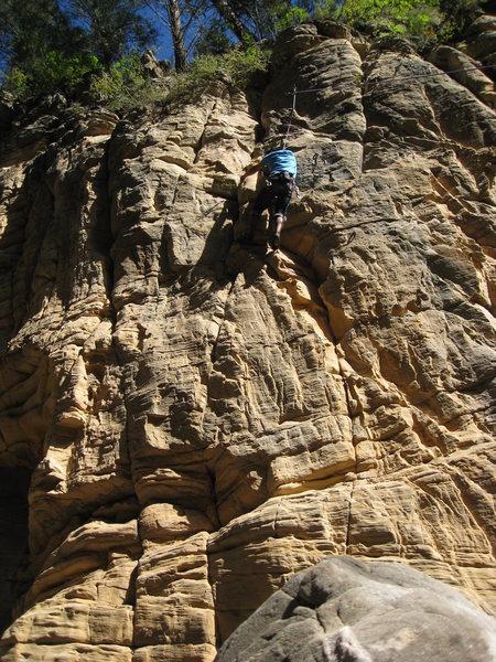 Rock Climbing Photo: 5.10 wall
