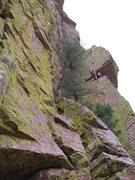 Rock Climbing Photo: getting to the fun
