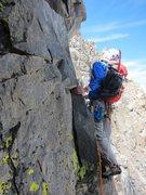 Rock Climbing Photo: Banner Peak, East Corner (III, 5.7)
