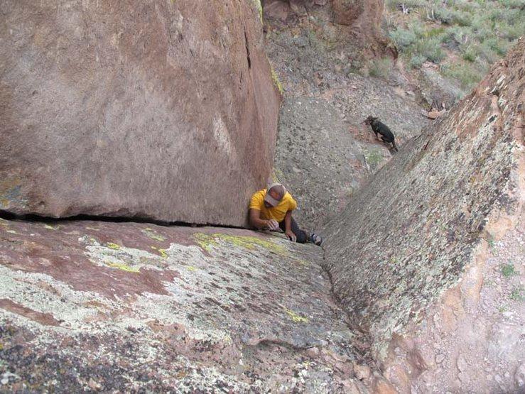 Rock Climbing Photo: Swine Slide