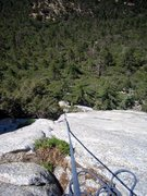 Rock Climbing Photo: I thought I was on the 3rd pitch but it was just o...