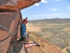 Rock Climbing Photo: Psyco Path traverse