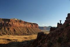 Rock Climbing Photo: Sundown