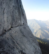 Rock Climbing Photo: Jason Ivanic on Condor Watch Ledge.