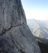 Rock Climbing Photo: Jason Ivanic on Condor Watch Ledge.