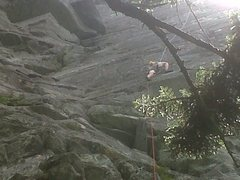 Rock Climbing Photo: Climbing Boardwalk