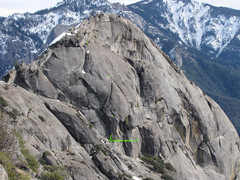 Rock Climbing Photo: This photo shows the Offramp and Aerial Boundaries...