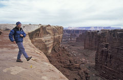 Rock Climbing Photo: Good times on the White Rim...