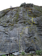 Rock Climbing Photo: Regular route in parking area