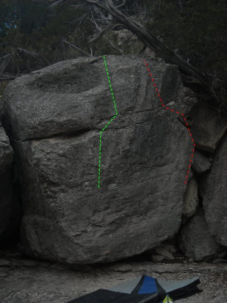 Rock Climbing Photo: GREEN: Eye of the Cyclops
