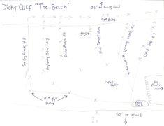 Rock Climbing Photo: Topo of The Beach area