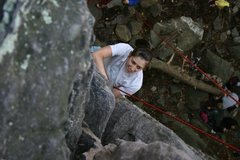 Rock Climbing Photo: tr
