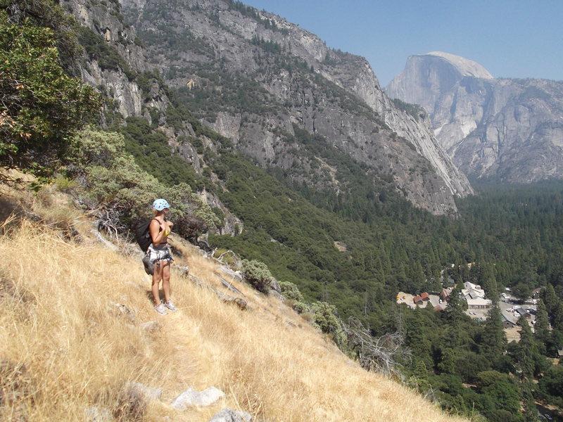 Rock Climbing Photo: Yosemite Valley Aug 2011