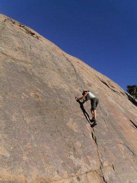 A little climb