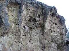 Rock Climbing Photo: Bivy Wall boulder